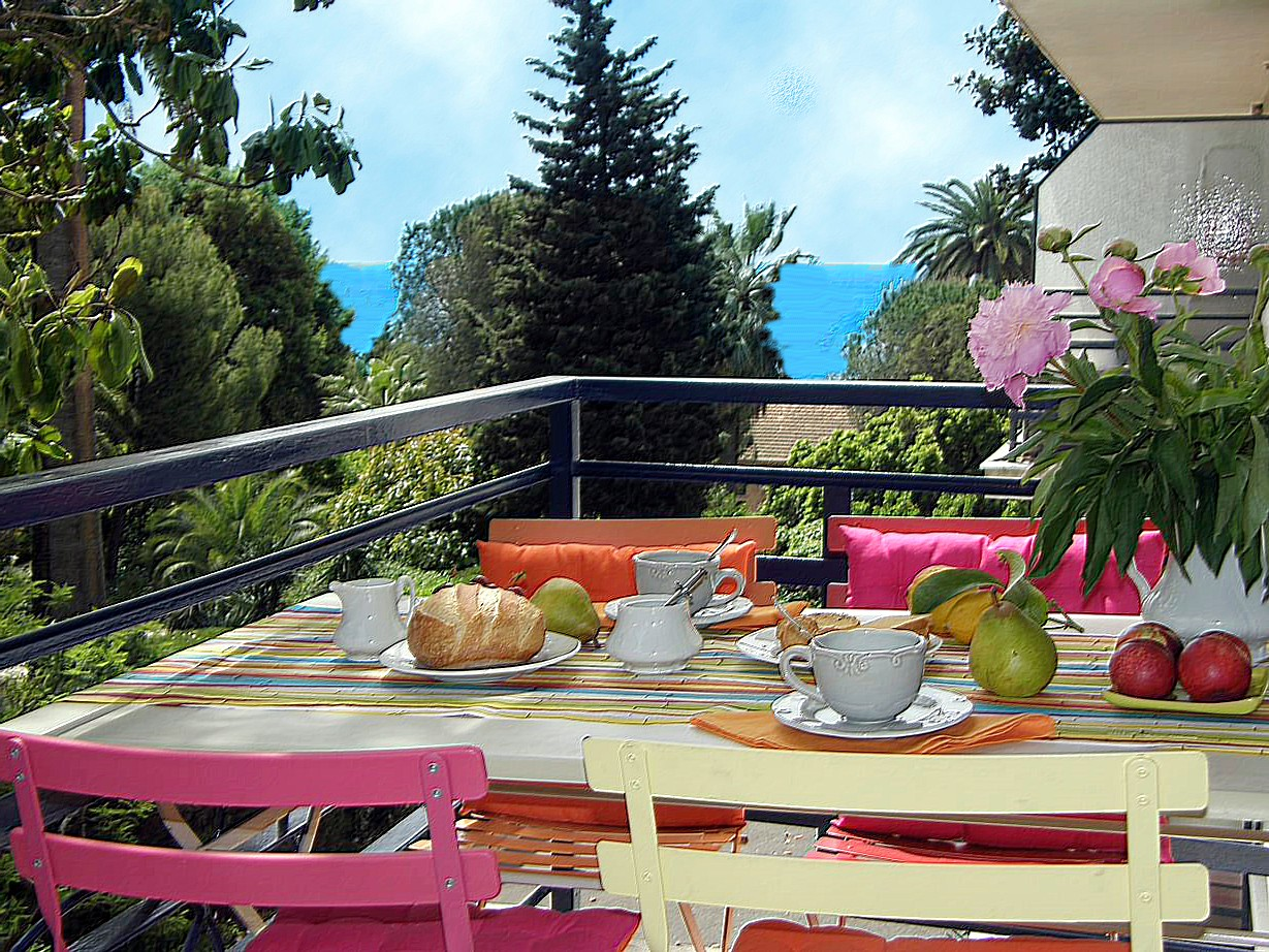 Location Cannes : TERRASSE